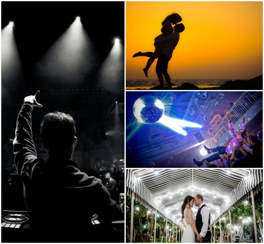 צילום אירועים, חתן וכלה, צילום עם פלאש, צילום באור טבעי עם תאורה