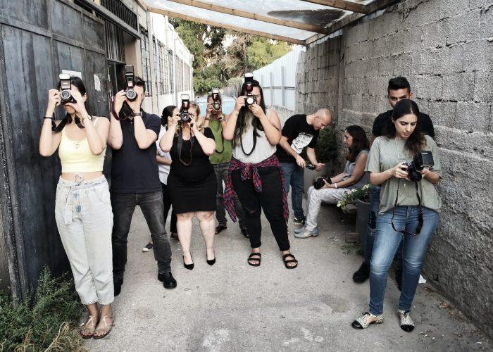 סטודנטים עם מצלמה